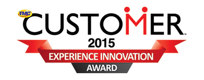 Customer 2015 Experience Innovation Award