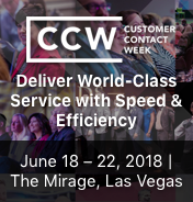 Customer Contact Week 2018